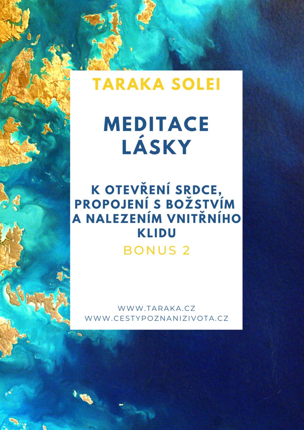 Bonus 2 - Meditace lásky